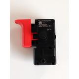 Interruptor/ Gatilho Para Furadeira Bosch 110v Gsb-13-r...