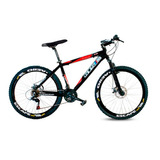 Bike Aro 26 Gts M1 Advanced Shimano 21v Freio Disco Trilha