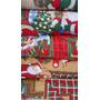Tela X Metros Publicitaria Navidad Papa Noel Poliéster