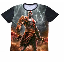 Remeras Full Print Kratos