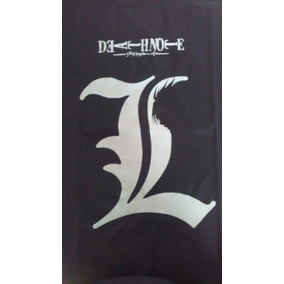 Remeras De Death Note ( L )