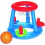 Aro Canasto De Basquet Basket Inflable Pileta - Gymtonic