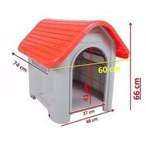 Casinha Casa Cachorro Plastico Mec House N 3 Cores Sortidas