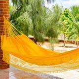 Rede De Dormir Casal Sol A Sol - Tecido De Brim