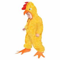 Disfraz De Pollito Niños Niñas Primavera 2 A 4 Años Trajes