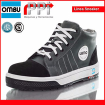 Botin Botita Sneaker Ombu Puntera Seguridad Trabajo Moron