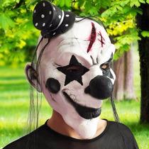 Máscara Palhaço Assassino Terror Carnaval Látex Cosplay