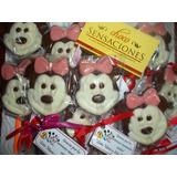 Paletas De Chocolate Mickey-minnie X 10u - Souvenir