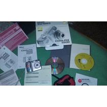 Camara De Fotos Coolpix S3200 Digital Dvd Cd Manual Funda