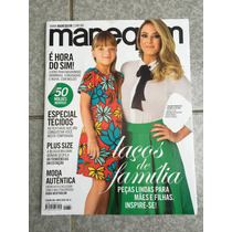 Revista Manequim Ticiane Pinheiros Plus Size Maio 2016 N°686