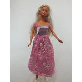 Boneca Barbie - Mattel - Original - Roupa De Brilho (w 11)