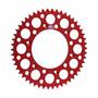 Coroa Renthal Alumínio Cr 87/15 + Crf 230 - Vermelho 520x51