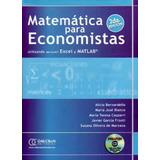 Matemática Para Economistas Utilizando Excel Matlab Omicron