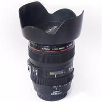 Cofre Copo Caneca Lente De Camera Fotografica Canon