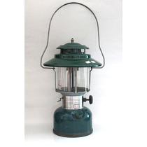 Lampeão Lamparina Verde Com Regulador Lindo Design