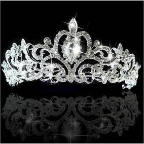 Corona Tiara Diadema Peineta Tocado Novia Xv Boda