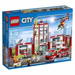 Educando Lego City 60110 Estación De Bomberos Bloques
