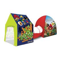 Barraca 3 X1 Angry Birds - Sem Bolinhas