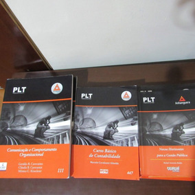 Plt Anhanguera - Vários Livros