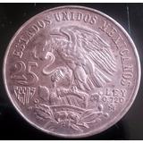 Moneda Olimpiadas De Mexico 1968 25 Pesos Plata Extra Fine