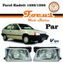 Farol Kadett 1989 1990 1991 1992 1993 1994 Par Ipv