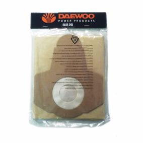 Bolsa Aspiradora Daewoo 20 Litros Polvo Repuesto Davc90-20l