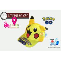 Pokemon Gorra + Regalo Sorpresa + Envio Gratis