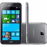 Samsung Galaxy I8750 Ative S Windows Phone 3g Prata 16gb 8mp