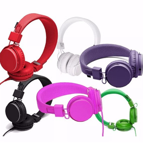 Auriculares Vincha Microfono Incorporado Cable Colores