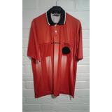 Camiseta Árbitro, Marca Umbro Original Talla L