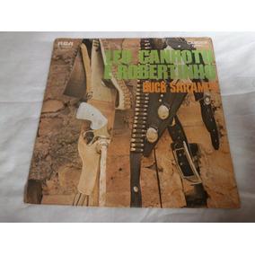 Lp Léo Canhoto E Robertinho - Buck Sarampo, Disco Vinil 1971