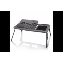 Mesa Para Notebook Cooler Duplo - Ac127 - Multilaser Oferta!