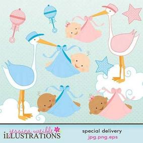 Kit Imprimible Baby Shower Imagenes Clipart