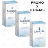 Metabolic Cla Caps X 60 Oferta Quemador De Grasas Pack X 3