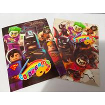 Lego Batman Libros Para Colorear Bolos