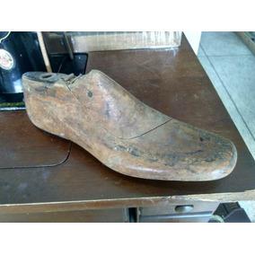 Antigo Molde Em Madeira Para Fabricação De Sapatos