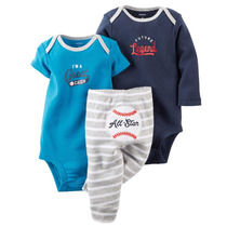 Carters Conjunto Bodysuits + Pantalon Nena /varon Imp. Usa