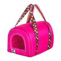 Bolsa Transporte Mini Rosa Pet Calopsita Cão 12x Sem Juros