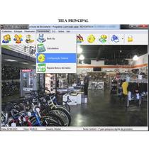 Programa Para Controle De Lojas E Oficinas De Bicicletas