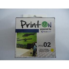 Printon Cartucho Compatible Con Hp # 02