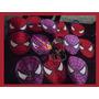 Bolsitas Del Hombre Araña Rojo,negro Unicas