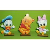 20 Souvenirs + Central Pato Donald, Daisy Y Winnie Pooh Bebe
