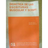 Didactica De Las Escrituras Muscular Y Script. Ricardo Reyes
