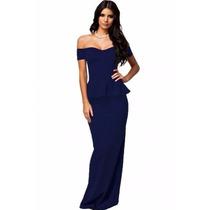 Sexy Elegante Vestido Largo Noche Fiesta 6244