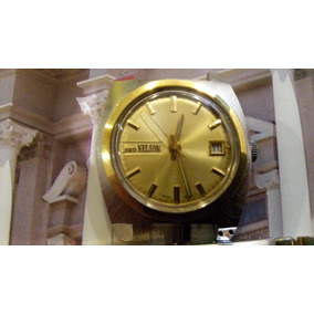 Reloj Suizo De Caballero Lord Nelson Clasico De Vestir