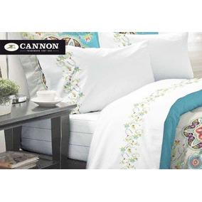 Sabanas Cannon Queen 180 Hilos De Chile Carpenter