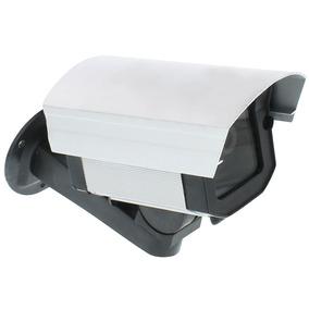 Câmera Falsa De Aluminio Com Led Bivolt - Vetti