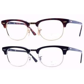 Armação Para Óculos De Grau Estilo Rayban Clubmaster Nova - Óculos ... 99bb8e4c8b