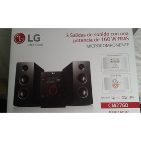 Equipo De Sonido Minicomponente Lg Rms 160w Usb Bluetooth