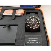 Relogio Edox Class-1 Ice Shark (ref. 10301) | 45mm